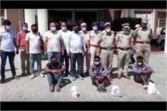 three nigerians arrested with 9 crore heroine