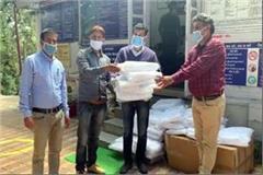 40 ppe kits handover to dalhousie hospital