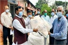bindal gave 150 ppe kit to medical college