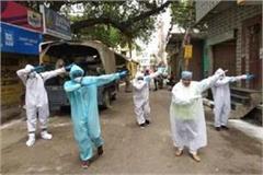 banaras after sanitizing the hotspot areas the garuda
