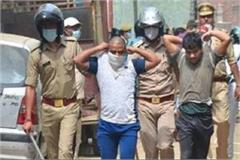 moradabad 5 accused who pelted stones police team turns corona positive