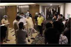 call center in five star hotel busted