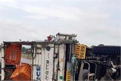 jeep crushed 2 passers on chandigarh manali highway died on the spot