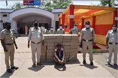 police huge success liquor mafia satna one accused 4 lakh country arrest