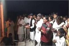 former bjp minister breaks lockdown