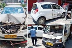 car accident in una