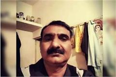mathura head constable shoots suicide creates panic