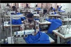 itbp jawans are making masks and ppe kits