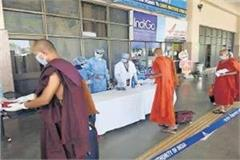 133 thailand buddhist monks to return to sage by following lockdown advisory