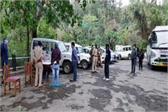 hrtc buses reached solan with 57 people stranded in chandigarh and kota