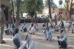 bahraich namazis attack police 6 soldiers injured