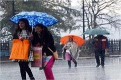round of rain snowfall will again from april 5 in himachal