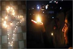 lamps lit up 9 pm to 9 minute in himachal on the appeal of pm modi