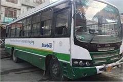 solan corona positive jamati hrtc bus