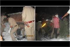 auraiya road accident the dead bodies of 24 laborers left the question
