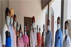negative report of 9 pilgrims returning from sri nanded sahib