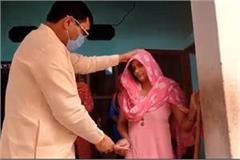 mla balraj kun reached to meet the victim s family