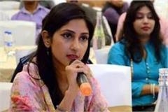 congress suspended mla from rae bareli aditi singh