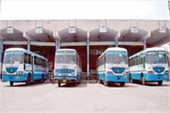 jind depot could not recover from corona hit 5 buses received