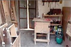 goods worth one lakh rupees stolen from furniture shop case registered