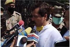dhananjay singh said on the arrest minister girish yadav lodged a fake case