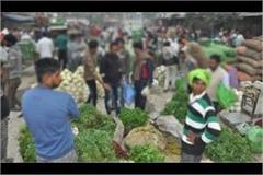 shamli corona virus spreading continuously from vegetable market