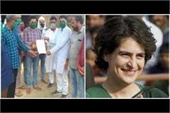on opening the  sanjarpur mask center  priyanka gandhi