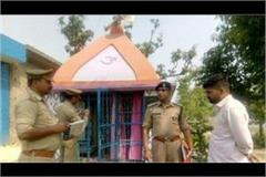 sambhal ruthless killing of priest and his son police engaged in investigation