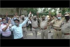 punjab police  dont make social distance