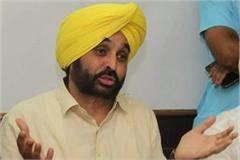 captain amarendra singh has done saffronisation bhagwant mann
