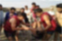 traumatic death 2 child drown pit fill open water illegal excavation sehore