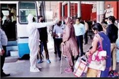bus service started for many districts including sirsa hisar