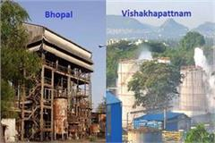 how many similarities between visakhapatnam and bhopal gas scandal