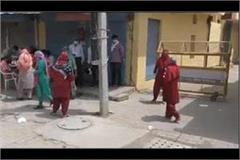 corona knocked in fatehabad city girl returned from delhi corona positive