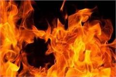 husband trapped in gujarat   mother and 2 sons burnt alive