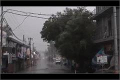 rain caused havoc with stormy winds in up 28 dead