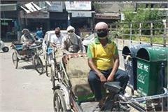 morale of rickshaw drivers broken in lockdown rickshaw driver