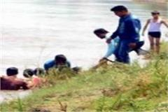 five friends drowned in yamuna in mathura one dead
