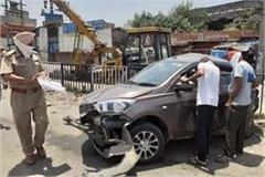 pathankot chau had a doctor s car accident victim