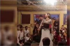 video viral of the bans put a heavy dance on the wedding of the bsp leader s son