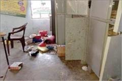 burglars break into lockdown locks in school rooms and kitchen