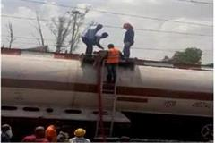 after khandwa gas leak at bhopal station panic in the area