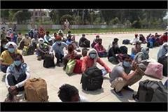 994 migrant laborers have been sent to bihar and uttar pradesh in kurukshetra