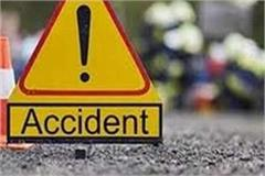 bus filled with laborers hit tractor in katni one killed three injured