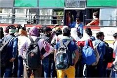 roadways earned 1 crore due to laborers and students amid lockdown