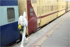 train leaves for the return of migrant workers in bathinda