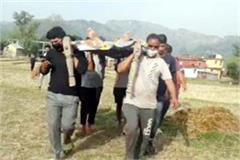 village crave for road to home district of cm