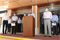 haryana dgp administered oath on anti terrorism day