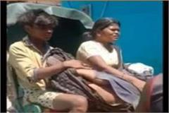 dead body of elderly woman had to be brought in a rickshaw