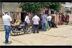 corona reached jind from mumbai four people came to village